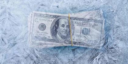 3 Reasons behind Frozen Bank Account