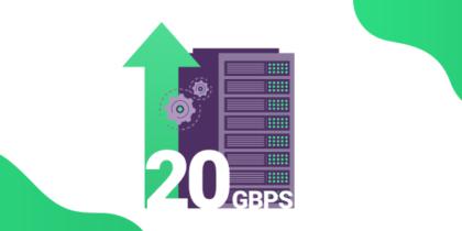 PureVPN 20 Gbps Server Upgrade
