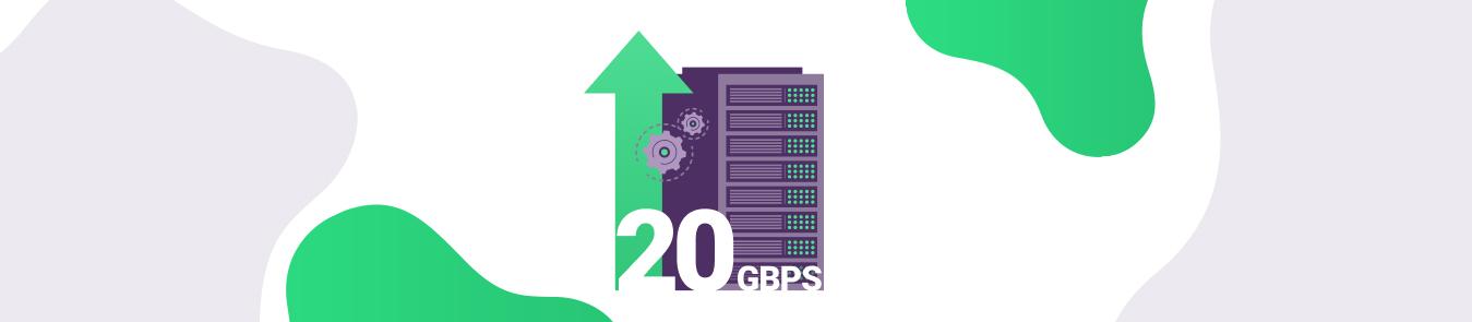 20 Gbps Server Upgrade